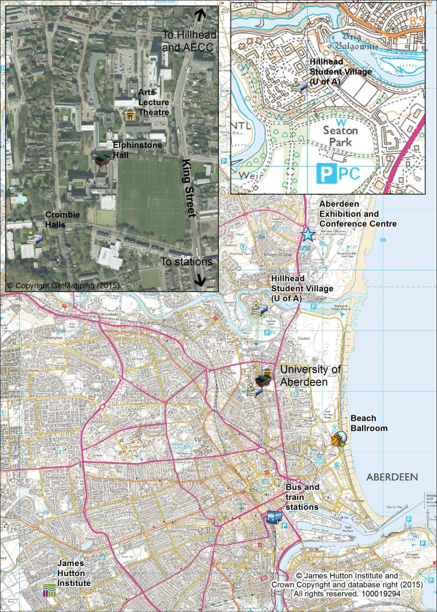 Maps of Aberdeen The XXVI European Society for Rural Sociology
